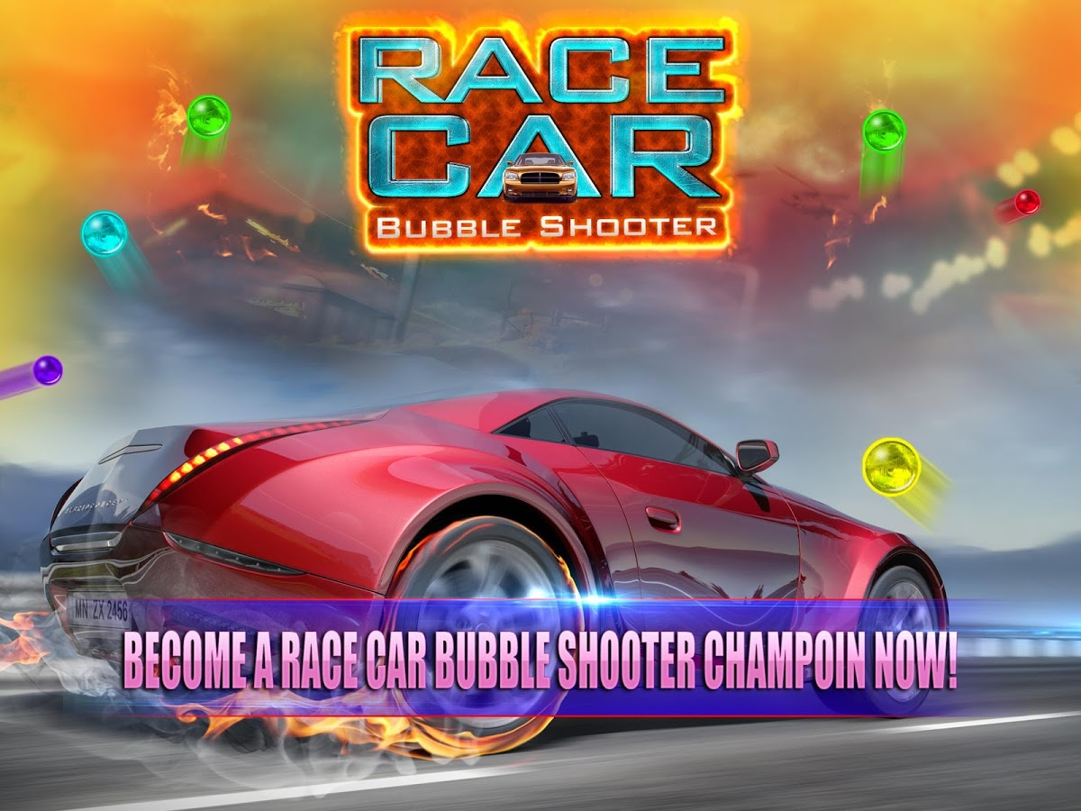 Sport Car Bubble Race